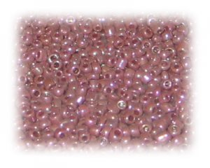 11/0 Plum Rainbow Luster Glass Seed Beads, 1 oz. bag