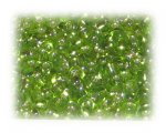 6/0 Apple Green Silver-Lined Glass Seed Beads, 1 oz. bag