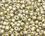 11/0 Antique Gold Metallic Glass Seed Bead, 1oz. bag