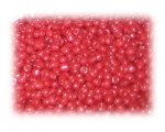 11/0 Red Opaque Glass Seed Beads, 1 oz. bag