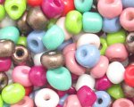 6/0 Bright Color Opaque Glass Seed Bead, 1oz. bag