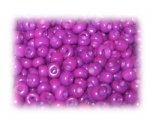 6/0 Crimson Opaque Glass Seed Beads, 1 oz. bag