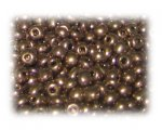 6/0 Copper Metallic Glass Seed Beads, 1 oz. bag