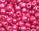 6/0 Crimson Ceylon Glass Seed Bead, 1oz. bag