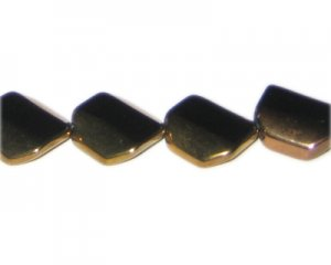 18mm Black Vintage-Style Glass Bead, approx. 4 beads