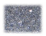 11/0 Silver Transparent Glass Seed Beads, 1 oz. bag