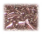 7 x 2mm Copper Bugle Bead, 1 oz. bag