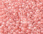 11/0 Pink Inside-Color Glass Seed Bead, 1oz. bag