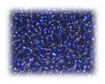11/0 Navy Blue Silver-Lined Glass Seed Beads, 1 oz. bag
