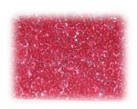 11/0 Red Inside-Color Glass Seed Beads, 1 oz. bag