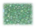6/0 Deep Apple Green Opaque Glass Seed Beads, 1 oz. bag