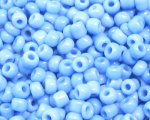 11/0 Sky Blue Opaque Glass Seed Bead, 1oz. bag