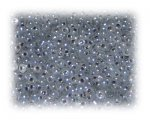 11/0 Deep Silver Opaque Glass Seed Beads, 1 oz. bag