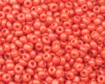 11/0 Burnt Orange Opaque Glass Seed Bead, 1oz. bag