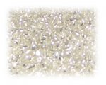 11/0 Crystal Silver-Lined Glass Seed Beads, 1 oz. bag