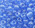 6/0 Sky Blue Ceylon Glass Seed Bead, 1oz. bag