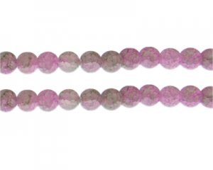 10mm Unikite Duo-Style Glass Bead, approx. 16 beads