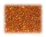 11/0 Deep Orange Silver-Lined Glass Seed Beads, 1 oz. bag