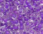 6/0 Purple Inside-Color Glass Seed Bead, 1oz. bag
