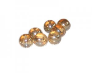12mm Shining Star Galaxy Glass Bead, approx. 17 beads