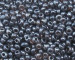 11/0 Gunmetal Metallic Glass Seed Bead, 1oz. bag