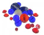 Approx. 1.5 - 2oz. USA Glass Bead Mix