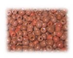 6/0 Earth Brown Opaque Glass Seed Beads, 1 oz. bag