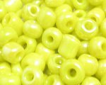 6/0 Yellow Opaque Glass Seed Bead, 1oz. bag