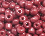 6/0 Reddish Brown Opaque Glass Seed Bead, 1oz. bag