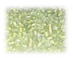 6/0 Pale Yellow Inside-Color Glass Seed Beads, 1 oz. bag