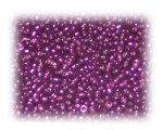 11/0 Purple Metallic Glass Seed Beads, 1 oz. bag