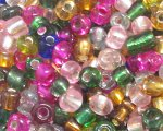 6/0 Color Silver-Lined Glass Seed Bead, 1oz. bag