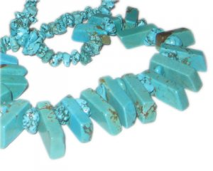 Turquoise Spike Necklace. Limit 1!