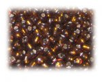 6/0 Brown Silver-Lined Glass Seed Beads, 1 oz. bag