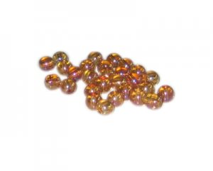 6mm Glowing Planet Galaxy Glass Bead, approx. 74-84 beads