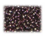 6/0 Plum Silver-Lined Glass Seed Beads, 1 oz. bag