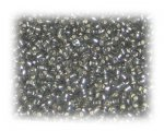 11/0 Deep Silver Silver-Lined Glass Seed Beads, 1 oz. bag