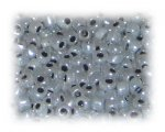 6/0 Deep Silver Ceylon Glass Seed Beads, 1 oz. bag
