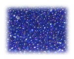 11/0 Navy Blue Rainbow Luster Glass Seed Beads, 1 oz. bag