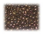 6/0 Bronze Metallic Glass Seed Beads, 1 oz. bag