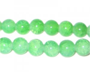 10mm Amazonite-Style Glass Bead, approx. 21 beads