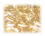 7 x 2mm Gold Twisted Bugle Bead, 1 oz. bag