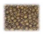 6/0 Bronze Metallic Matte Glass Seed Beads, 1 oz. bag
