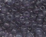 6/0 Purple Transparent Glass Seed Bead, 1oz. bag