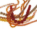 Orange Glass Bead Bundle