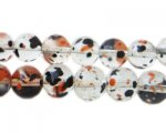10mm Halloween Season Glass Beads, approx. 22 beads