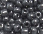6/0 Black Opaque Glass Seed Bead, 1oz. bag