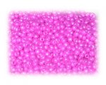 11/0 Hot Pink Opaque Glass Seed Beads, 1 oz. bag
