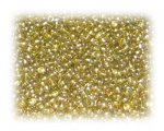 11/0 Gold Opaque Glass Seed Beads, 1 oz. bag