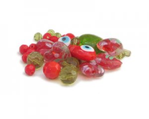 Approx. 1.5 - 2oz. Love Bead Mix